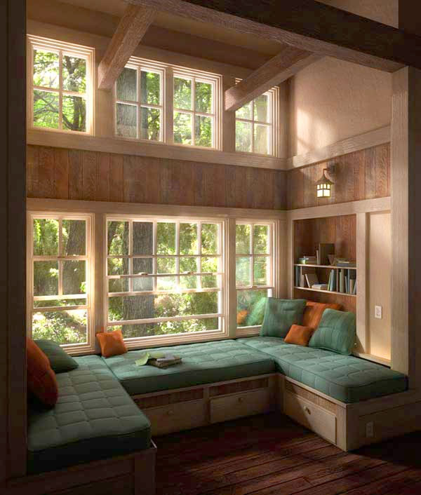 Źródło: http://freshome.com/2011/11/29/36-cozy-window-seats-and-bay-windows-with-a-view/
