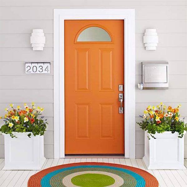 Prosty i estetyczny wygląd wejścia do domu