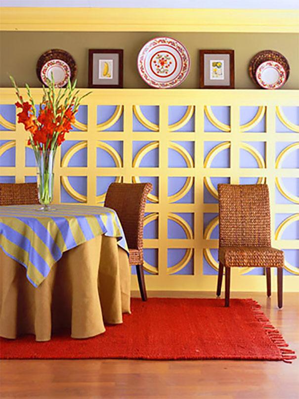 Ściana jako główny element dekoracyjny wnętrza