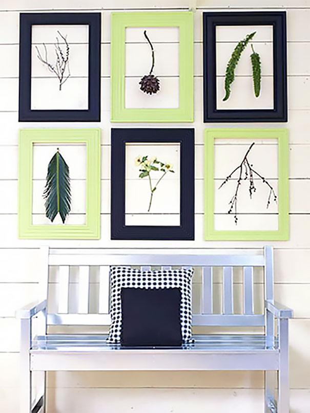 Wykorzystanie listew do wykonania dekoracyjnych ramek eksponujących zdjęcia