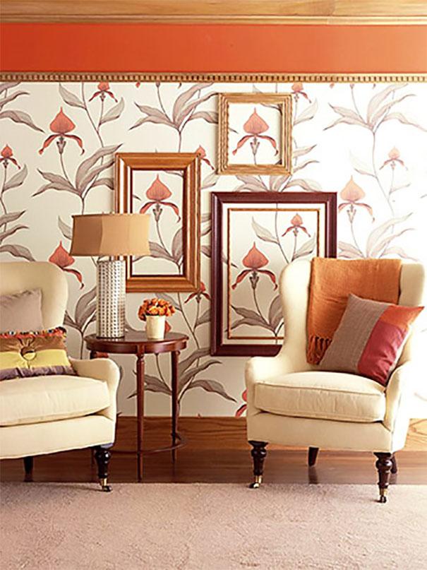 Dekoracyjne ramki z listew