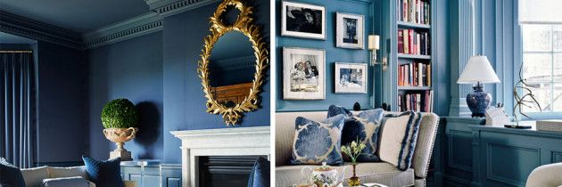 Kolor we wnętrzu – aranżacje w odcieniach błękitu