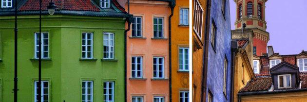 Atmosfera zabudowy Starego Miasta