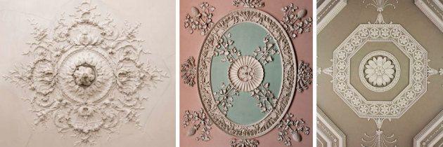Detal – komponowanie sztukaterii na suficie