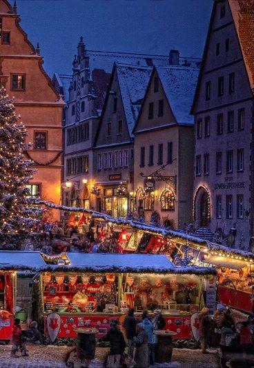 miasteczko Rothenburg