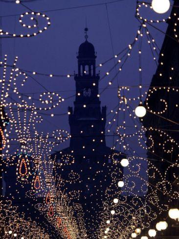 Wieczór świąteczny w Mediolanie