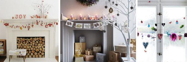 Świąteczne dekoracje wnętrz