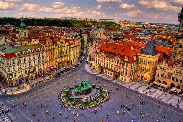 Praga - rynek Staromiejski