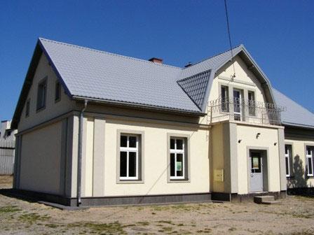Odświeżony stary dom