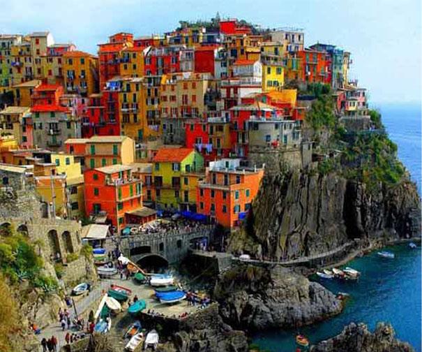 Kolory elewacji budynków - Różne kolory fasad domów