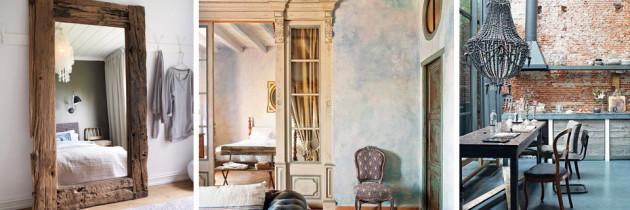 Wnętrza w rustykalnym stylu – garść inspiracji