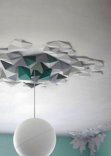 modernistyczna geometryczna forma rozety
