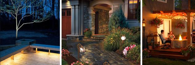 Oświetlenie zewnętrzne – jak rozproszyć mrok wokół domu