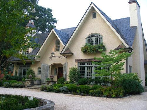 Dom we francuskim stylu wiejskim