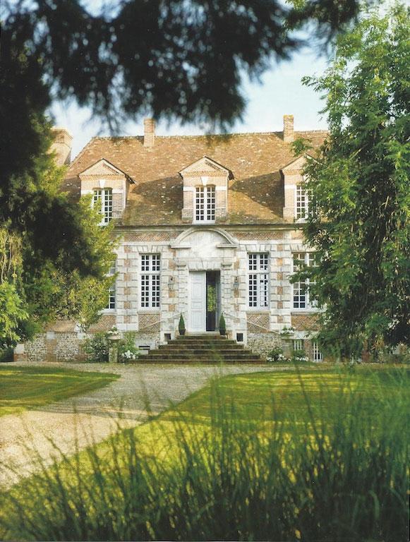 Klasyczna wielowiekowa willa francuska