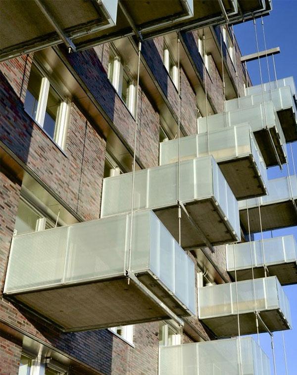 Balkony wiszące