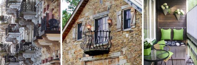 Balkon również może być piękny i funkcjonalny