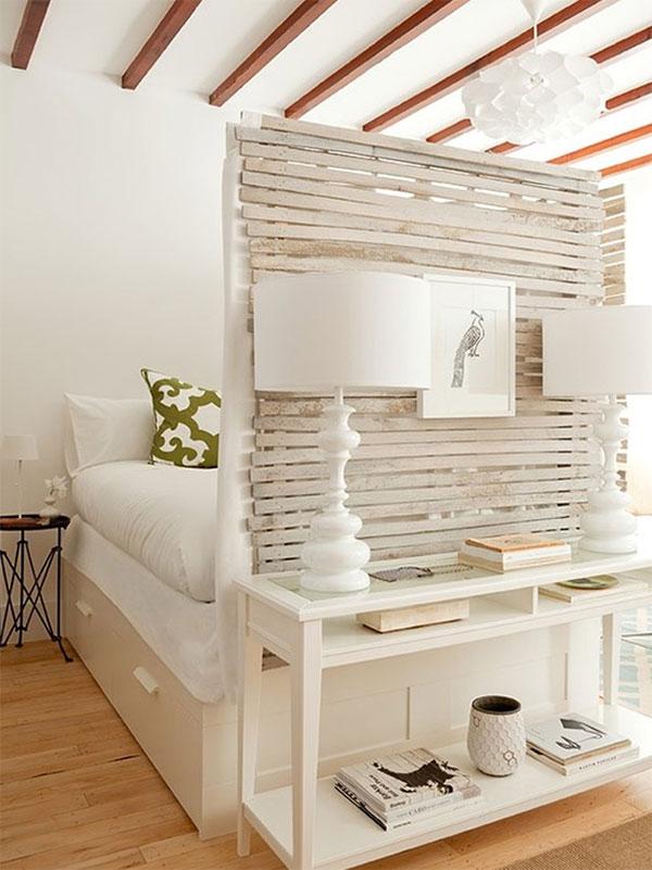 Mikro sypialnia