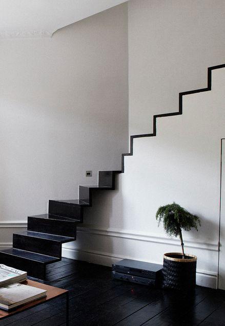 Minimalistyczne schody